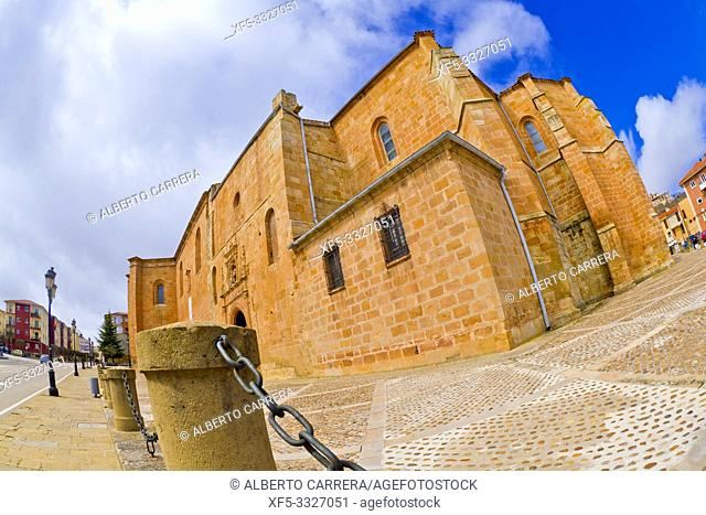 Co-Cathedral of San Pedro, 12-17th Century Romanesque Style, Spanish Property of Cultural Interest, Soria, Castilla y León, Spain, Europe