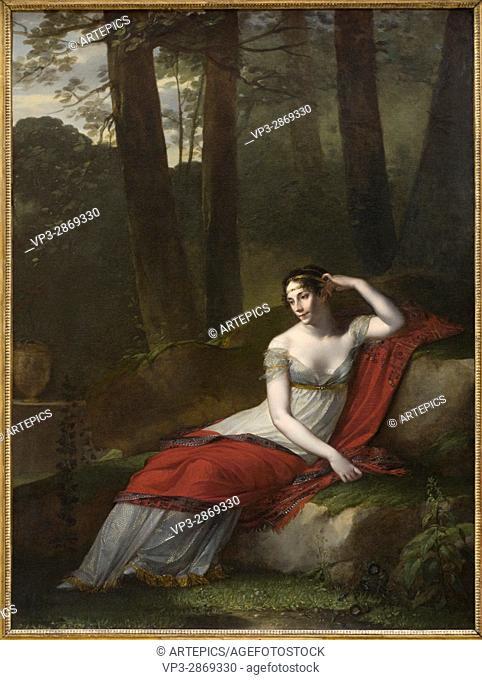 Pierre-Paul Prud'hon. L'Impératrice Joséphine. 1805. XIX th Century. French school. Louvre Museum - Paris