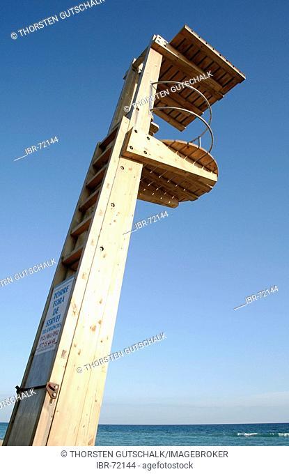 Observation tower life guard torre fora de servei