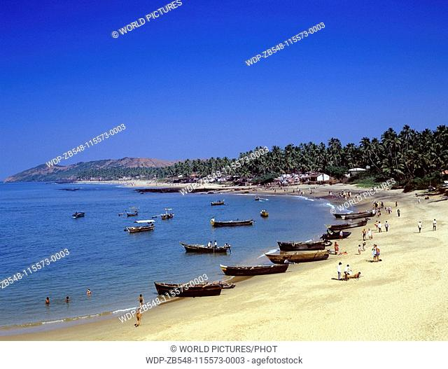 Anjuna Beach, Goa State, India Date: 15/06/2008 Ref: ZB548-115573-0003 COMPULSORY CREDIT: World Pictures/Photoshot