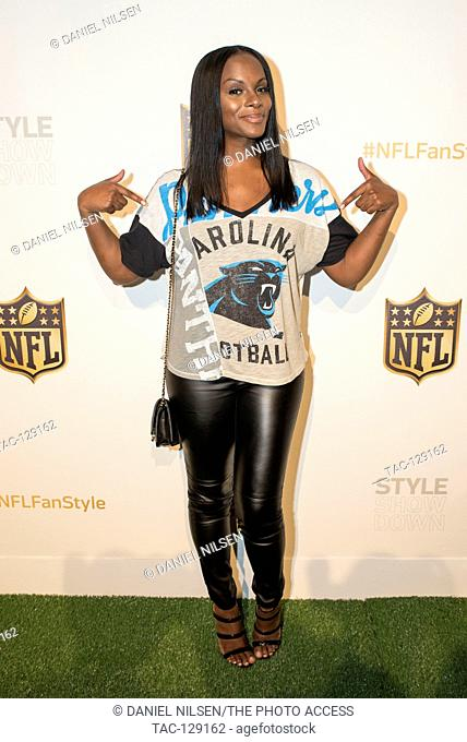 Actress, Model and NFL Ambassador Tika Sumpter attends the NFL Style Showdown at ArtBeam on September 24th, 2015 in New York City