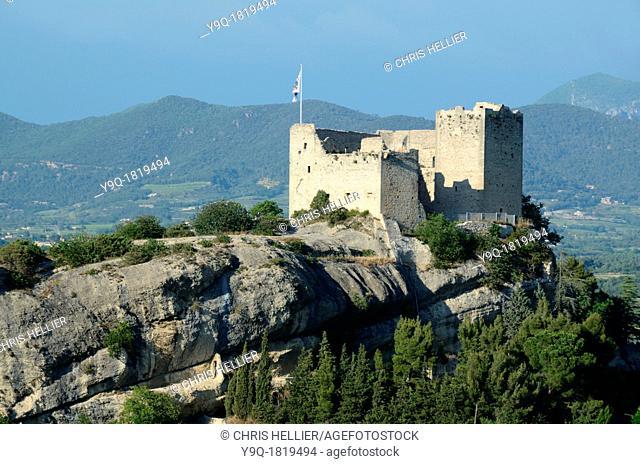 Medieval Castle Château or Fortress at Vaison-la-Romaine Vaucluse Provence France