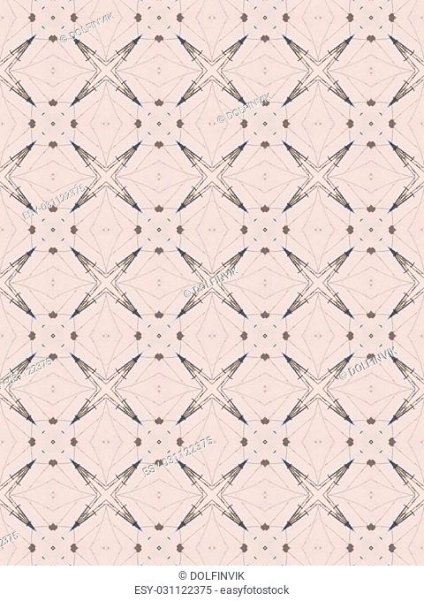 Abstract grey pattern texture, kaleidoscope seamless background