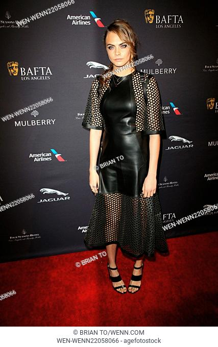 BAFTA Los Angeles Tea Party held at The Four Seasons Hotel - Arrivals Featuring: Cara Delevingne Where: Los Angeles, California