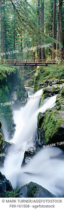 Sol Duc Falls. Olympic NP. Washington. USA