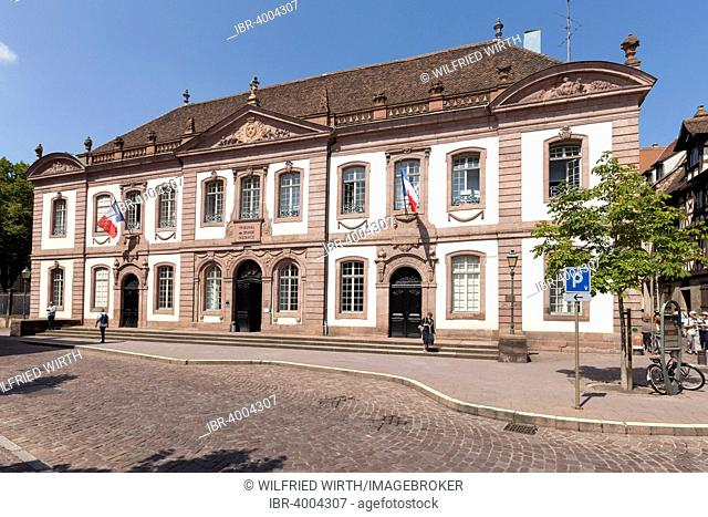 The courthouse, Colmar, Alsace, France