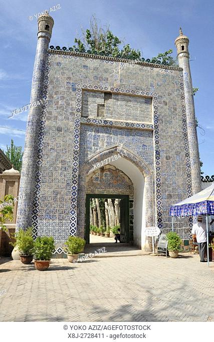 China, Xinjiang, Kashgar, Abak Hoja mausoleum