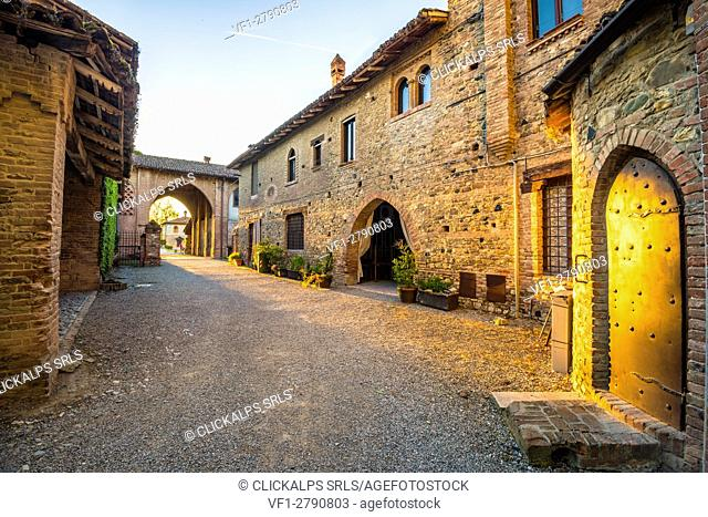 Grazzano Visconti, Vigolzone, Piacenza district, Emilia Romagna, Italy