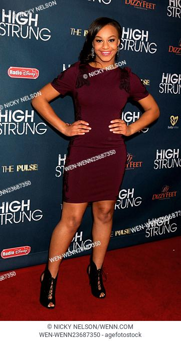 Premiere of Paladin's 'High Strung' at TCL Chinese Theatre - Arrivals Featuring: Nia Sioux Where: Los Angeles, California