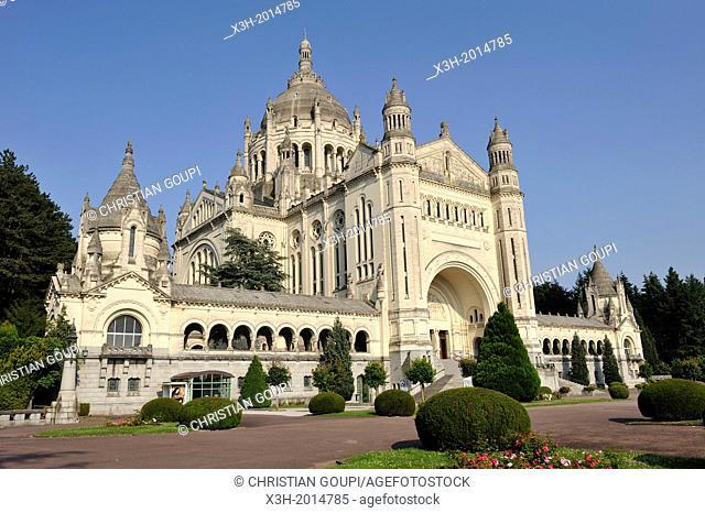 basilique Sainte-Therese de Lisieux,departement du Calvados,region Basse-Normandie,France,Europe/Basilica of Sainte-Therese de Lisieux,Calvados department