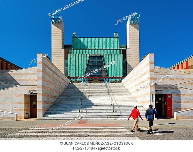 Palacio de Festivales Cultural Centre, Santander Bay, Santander, Cantabria, Spain, Europe