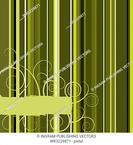 Abstract camouflage background design with floral strokes