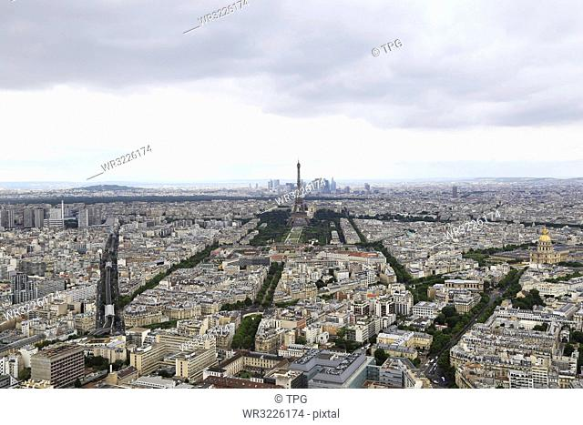 Overlooking Paris??rance