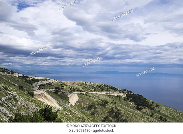 Albania, Adriatic coast between Vlore and Sarande