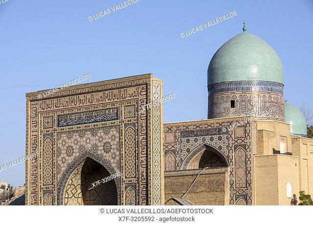 Shah-i-Zinda complex, Samarkand, Uzbekistan