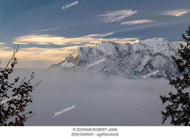 Sunrise Karwendel Mountains 1