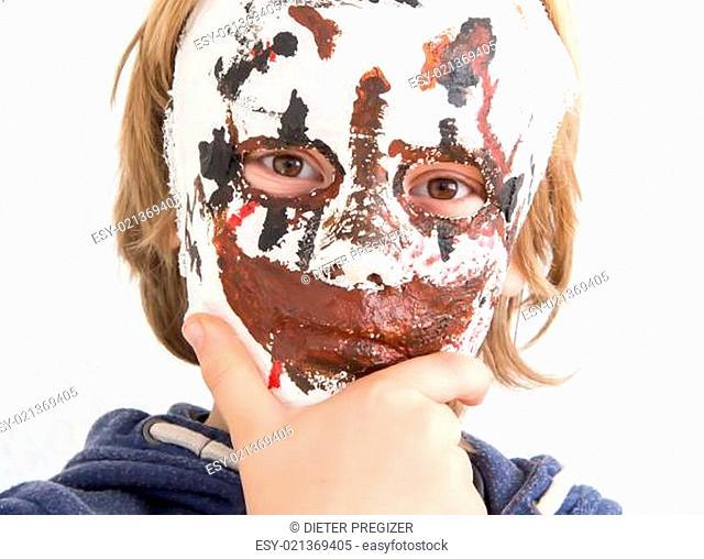 ind mit Maske