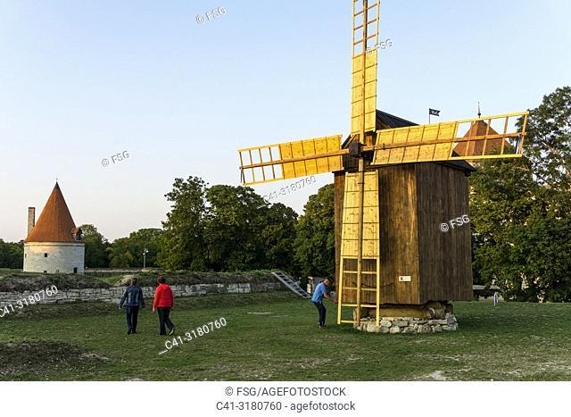 Windmill, Kuressaare, Saaremaa, Estonia