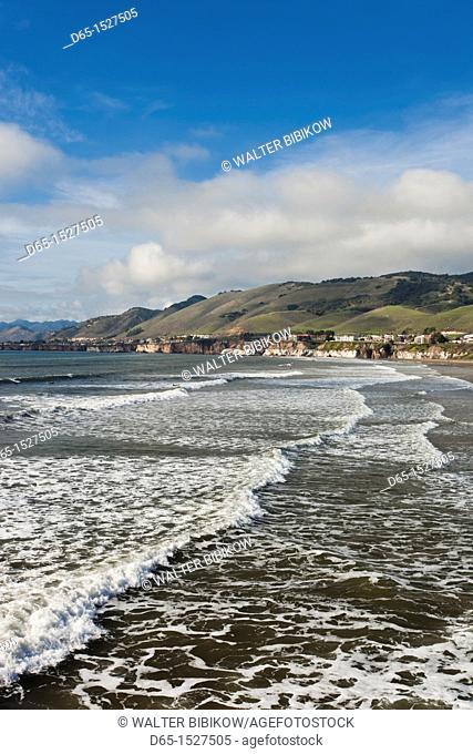 USA, California, Southern California, Pismo Beach, beachfront