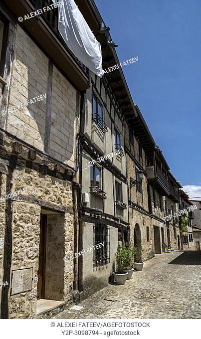 Small town Frías, province of Burgos, Castile and Leon, Spain