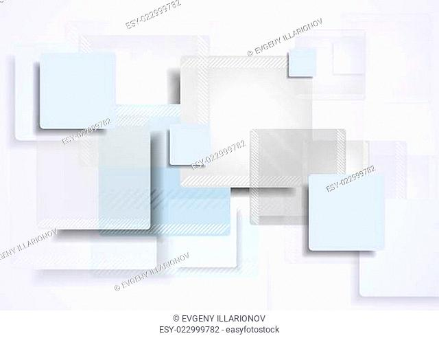 Tech corporate vector background