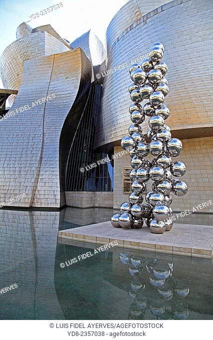 The Guggenheim Museum Bilbao is a museum of contemporary art designed by Canadian architect Frank O. Gehry, and located in Bilbao, Spain