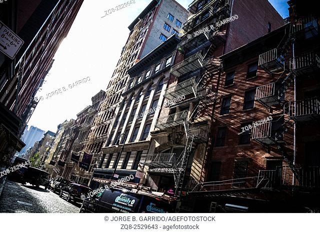 Clasic New York Building