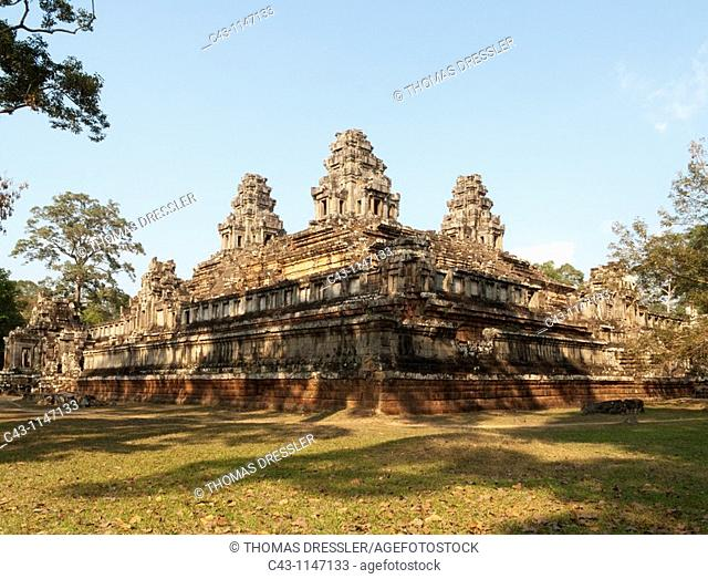 Cambodia - The Ta Keo temple in Angkor  The temple complexes of Angkor 'city' were the heart of the Khmer empire which flourished from the 9th to the 13th...