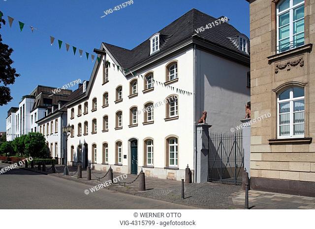 DEUTSCHLAND, DUISBURG, RUHRORT, 15.08.2009, D-Duisburg, Rhine, Lower Rhine, Ruhr area, North Rhine-Westphalia, D-Duisburg-Ruhrort, Haniel Museum