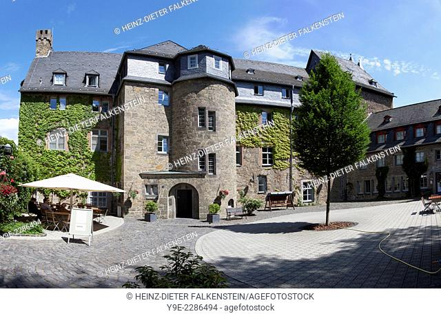 Herborn Castle, Theological Seminary of the Protestant Church in Hesse and Nassau, Hesse, Germany, Europe