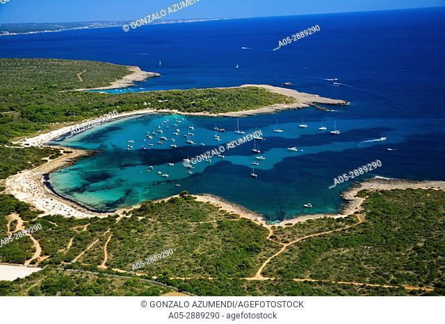 Cala Son Saura. Minorca. Menorca. Balearic Islands. Spain