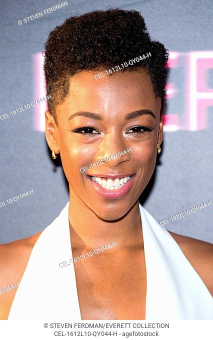 Samira Wiley at arrivals for NERVE Premiere, SVA Theatre (School of the Visual Arts), New York, NY July 12, 2016. Photo By: Steven Ferdman/Everett Collection