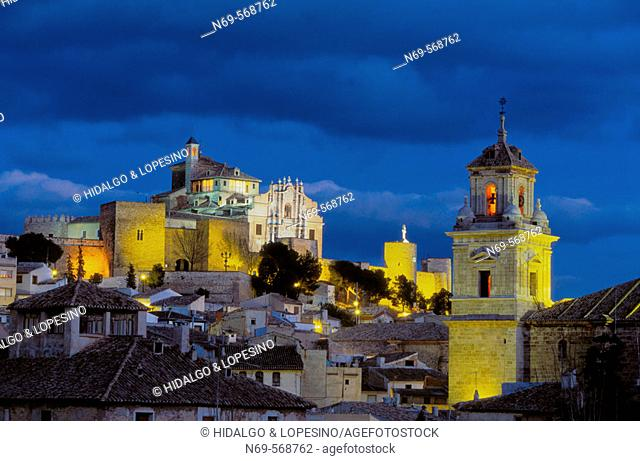 Caravaca de la Cruz. Salvador church and Veracruz sanctuary. Murcia province. Spain