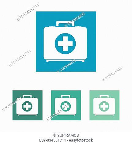 Medical healthcare graphic design, vector illustration eps10