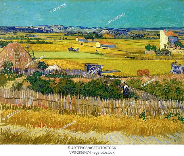 Vincent van Gogh - De oogst - Van Gogh Museum, Amsterdam