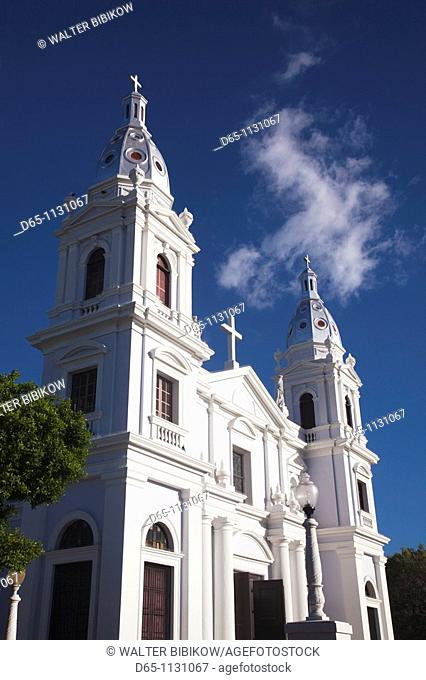 Puerto Rico, South Coast, Ponce, Catedral Nuestra Senora de Guadalupe cathedral