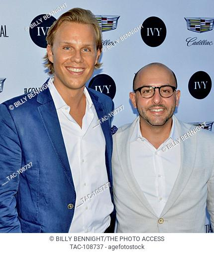 Philipp Triebel and Beri Meric arrived at the IVY Innovator Film Awards Hosted by Josh Radnor at the SmogShoppe