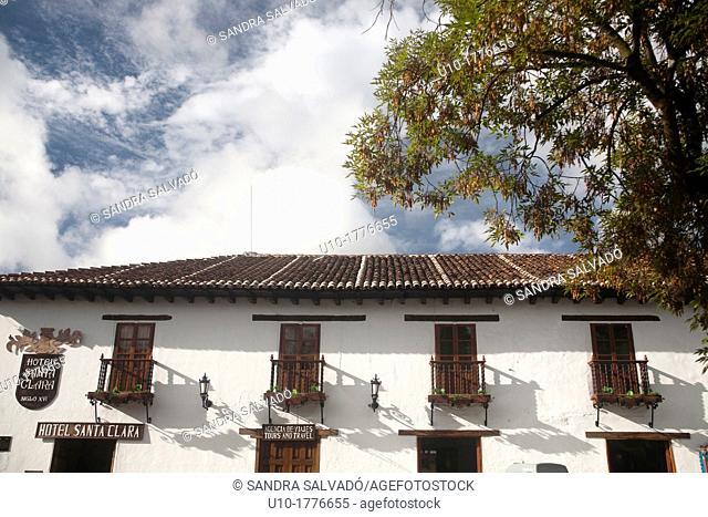Hotel Santa Clara, San Cristóbal de las Casas, Chiapas, México