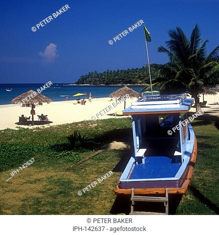 Tropical beach at Phuket