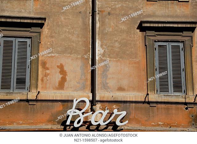 Bar, Rome, Italy