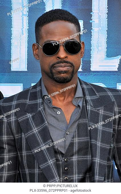 "Sterling K. Brown at the """"Hotel Artemis"""" Los Angeles Premiere held at the Bruin Theater in Los Angeles, CA on Saturday, May 19, 2018"