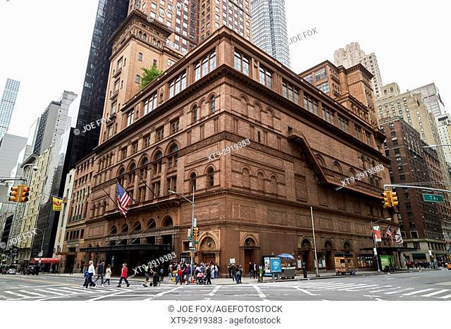 carnegie hall venue New York City USA