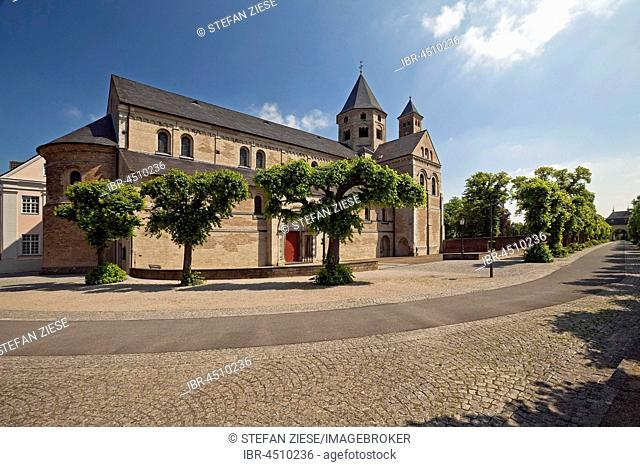 Monastery Basilica of St. Andrew, Monastery Knechtsteden Monastery, Dormagen, Lower Rhine, North Rhine-Westphalia, Germany