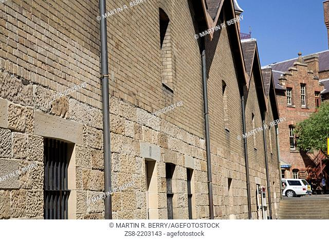 original sandstone warehouses at Campbell's cove The Rocks Sydney