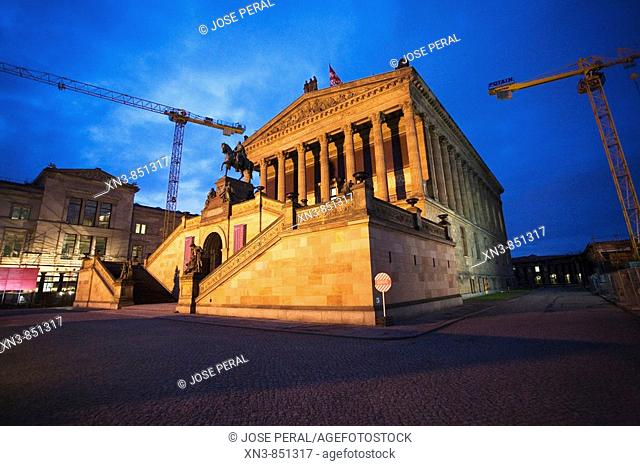 UNESCO World Heritage Site Old National Gallery, Island of museums Berlin, Germany