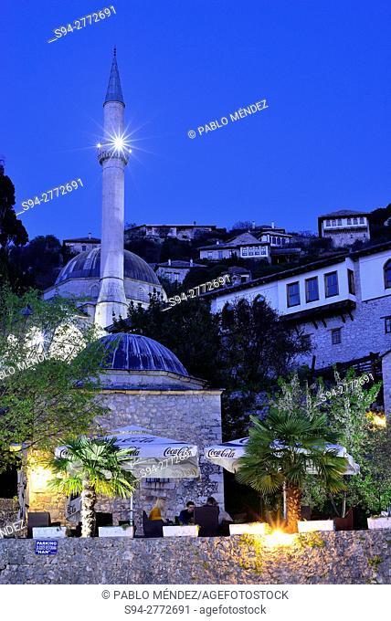 Otoman town of Pocitelj, Capljina, Bosnia and Herzegovina