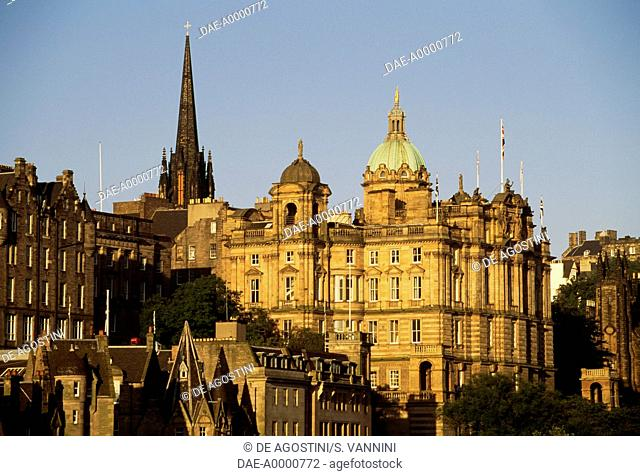 The Bank of Scotland, Edinburgh (Unesco World Heritage List, 1995), Scotland, United Kingdom