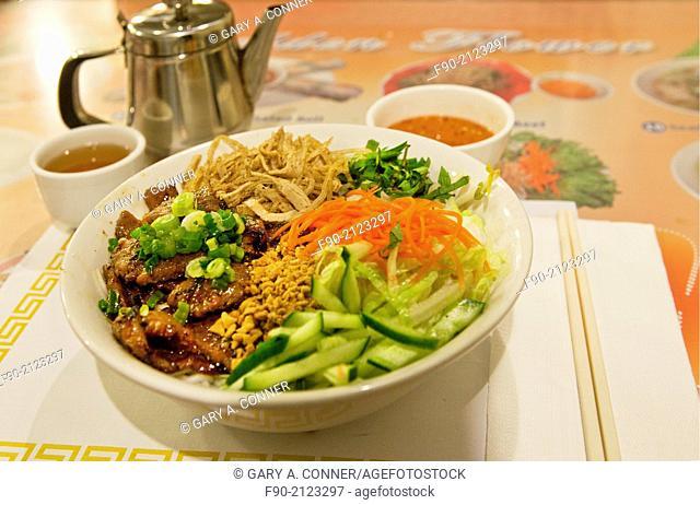 Meal at Vietnamese restaurant in San Francisco