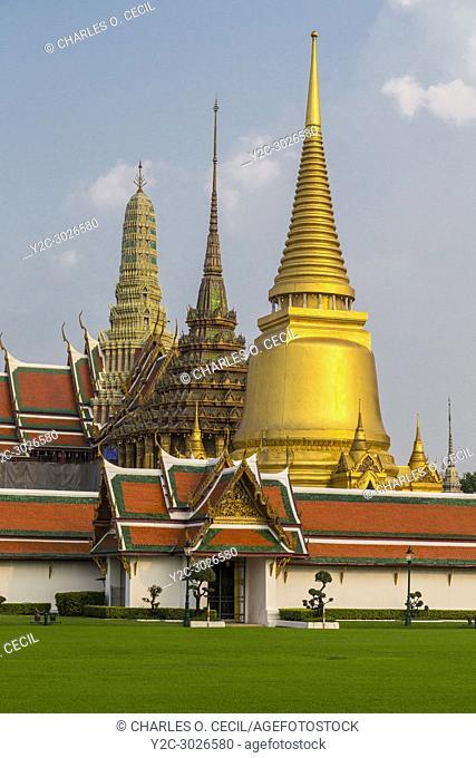 Bangkok, Thailand. Grand Palace Compound