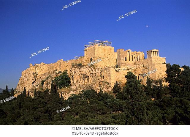 Parthenon Acrópolis of Athens Greece